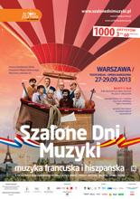 Szalone Dni Muzyki - plakat