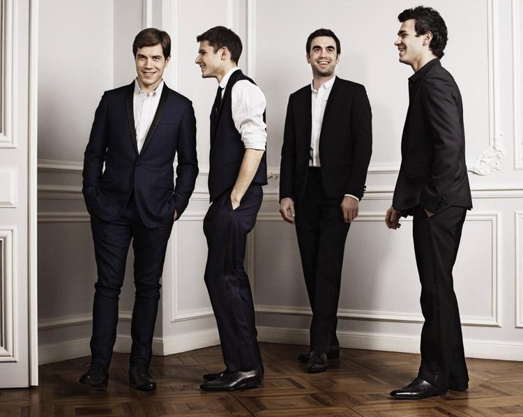 Quatuor Modigliani; fot. Jérôme Bonnet